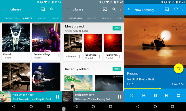best free music app for android - shuttle