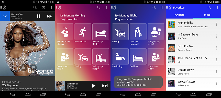best free music app for android - songaza