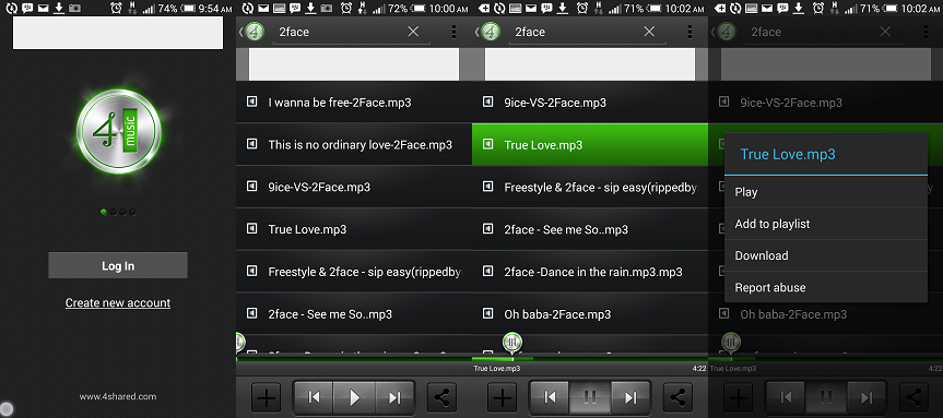 best free music download app for android - 4share