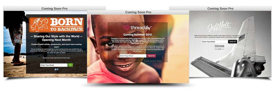 coming soon wordpress landing page plugin