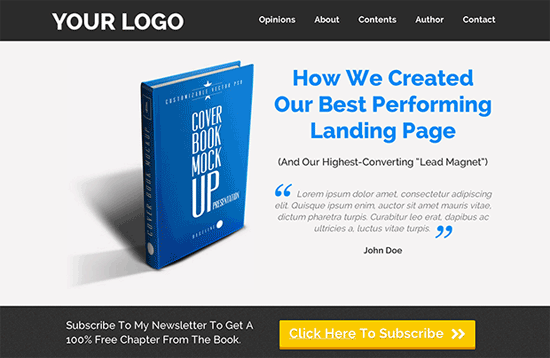 leadpages wordpress landing page plugin