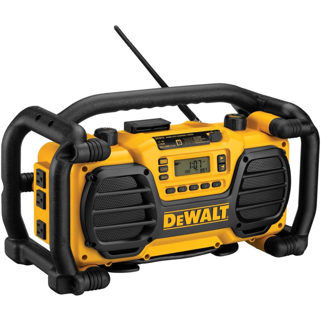DeWalt DC012 best Jobsite Radio Review