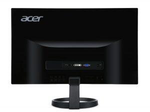 ACER R240HY BIDX IPS Monitor - Back