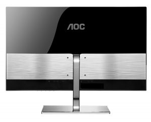 AOC i2777FQ LED IPS Monitor - Back