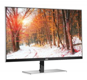 AOC i2777FQ LED IPS Monitor - Front - Right View