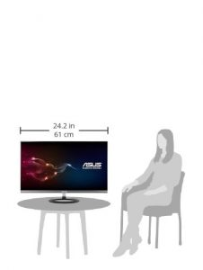 ASUS MX27QA Series LED IPS Monitor - Sitting vIEW