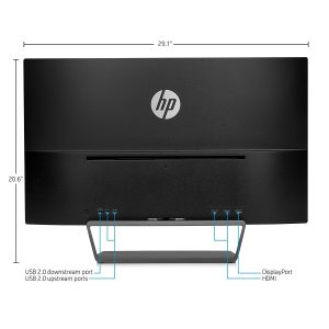 HP Pavilion 1440P Monitor - Back