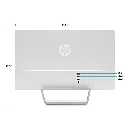 HP Pavilion 27xw IPS Monitor - Back and Ports
